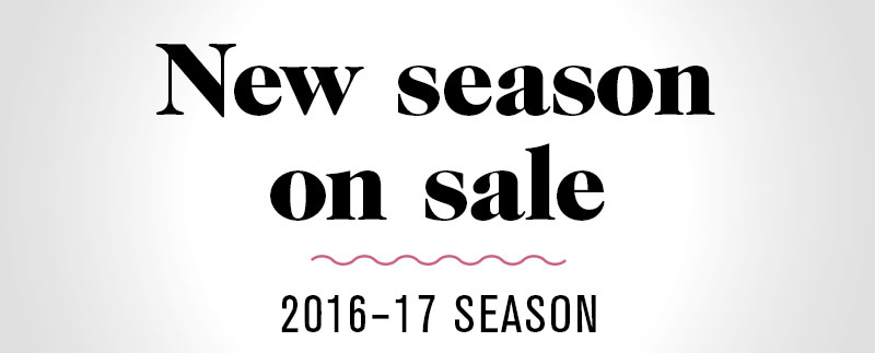 New season on sale. Click to learn more