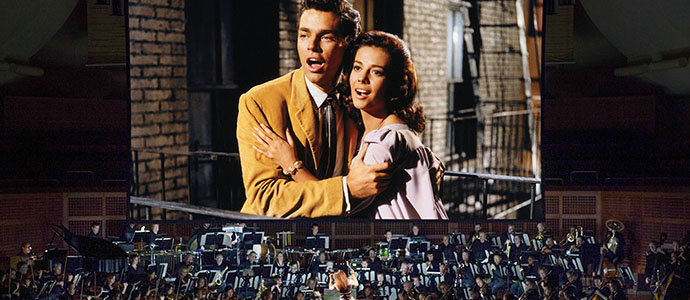 A scene from 'West Side Story'