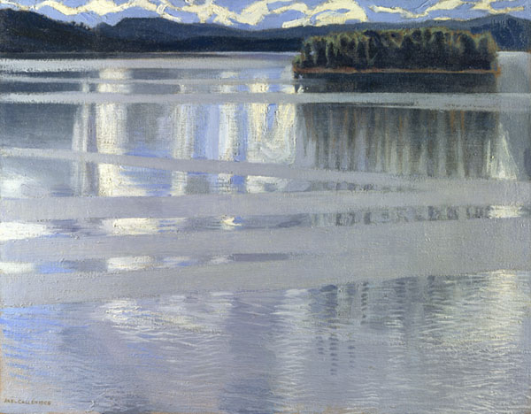 Lake Keitele, a painting by Akseli Gallen-Kallela