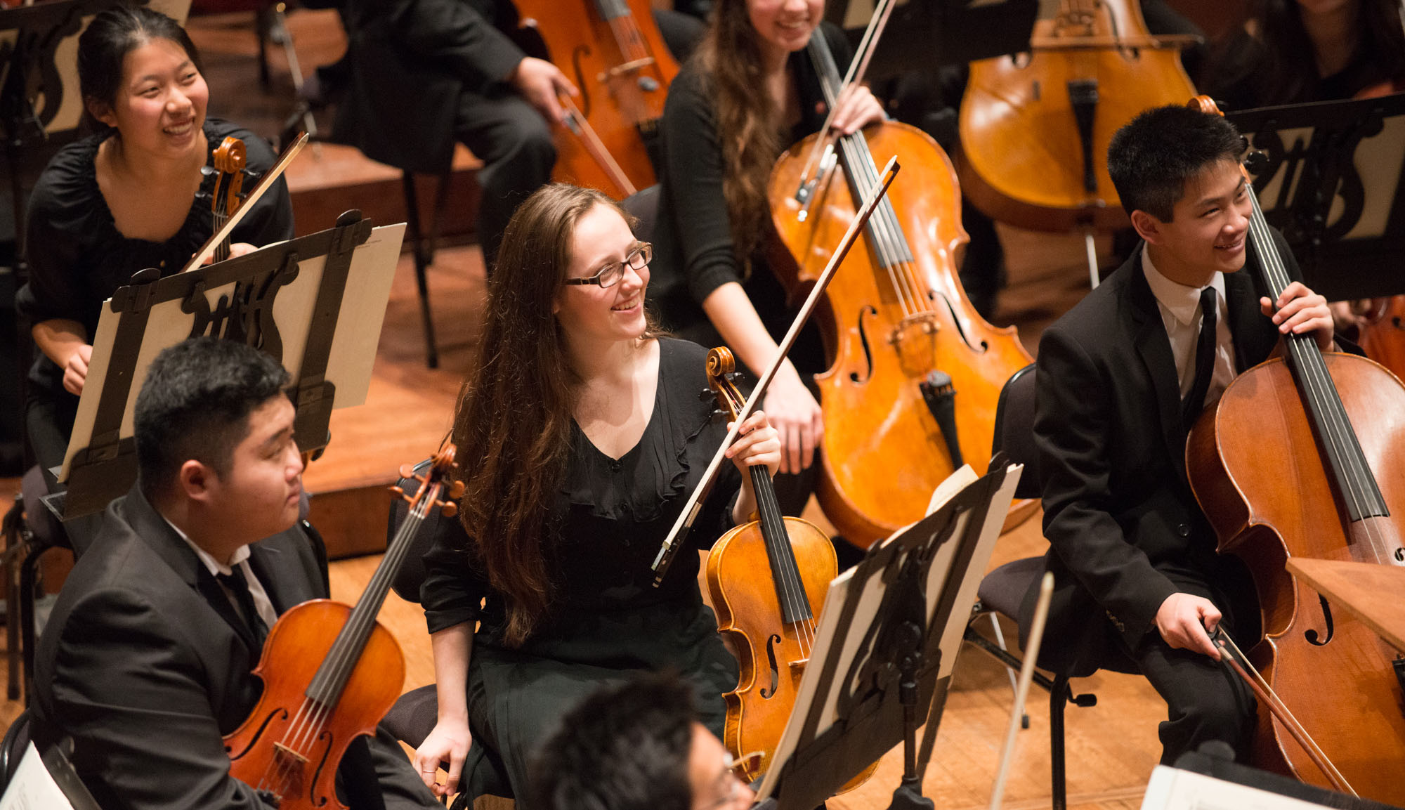 Youth Orchestra in rehearsal