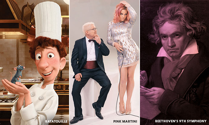 Ratatouille, Pink Martini, and Beethoven
