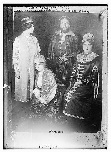 Cast of the Metropolitan Opera premiere of Boris Godunov, 1913