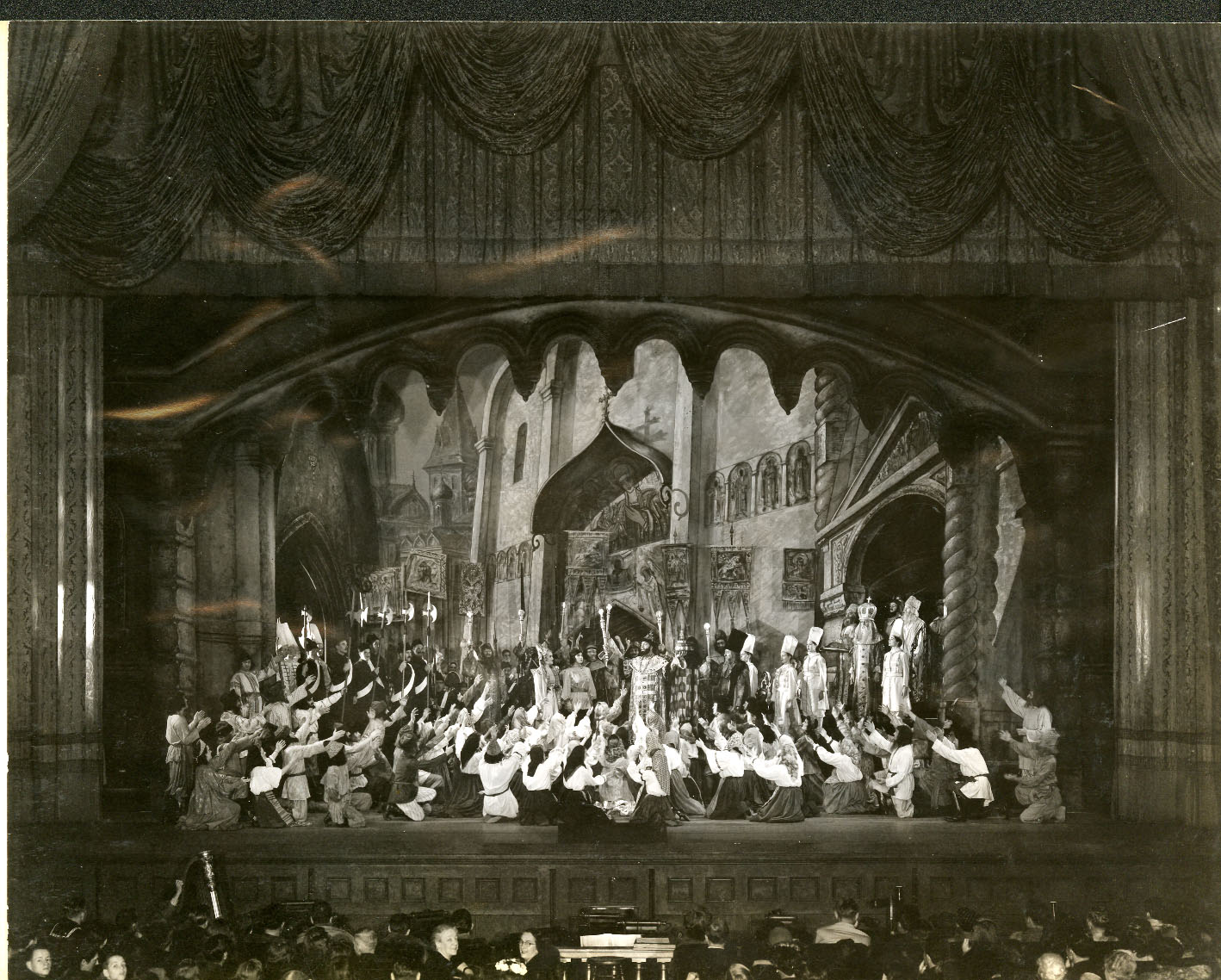 San Francisco Opera's 1945 production of Boris Godunov