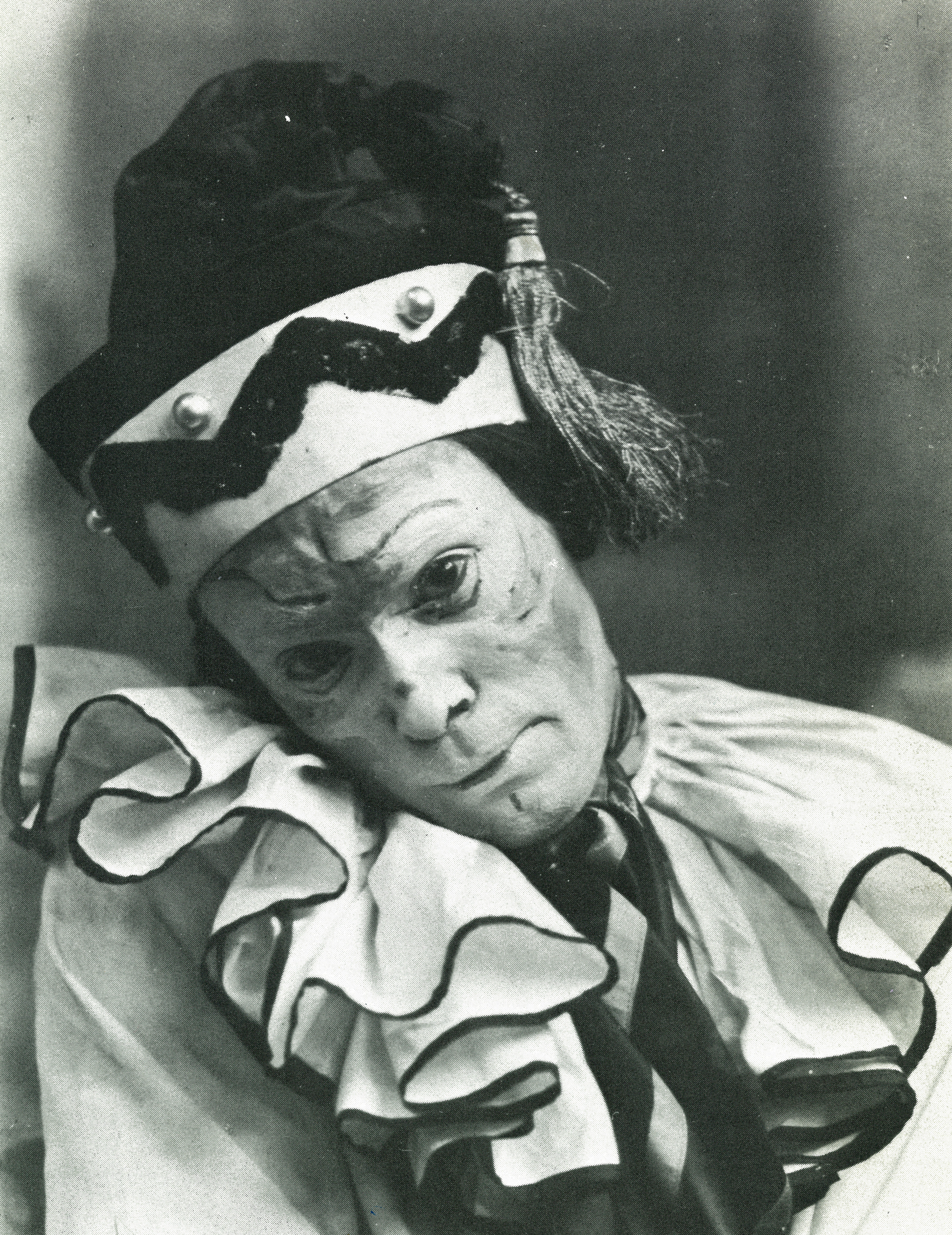 Nijinsky as Petrushka, London, 1912.