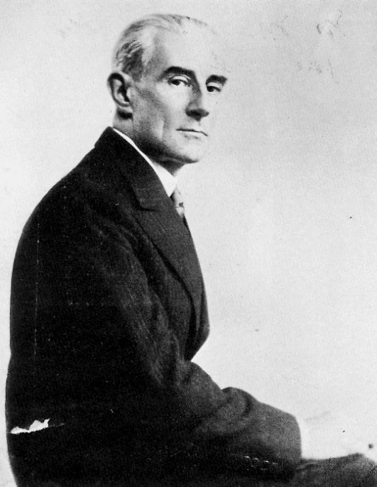 Portrait of Ravel