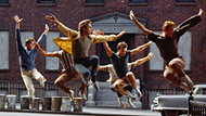 West Side Story plays above SF Symphony