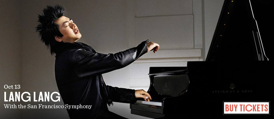 Lang Lang with the SF Symphony on October 13