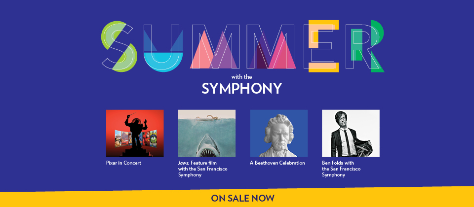 Summer with the Symphony on sale now!
