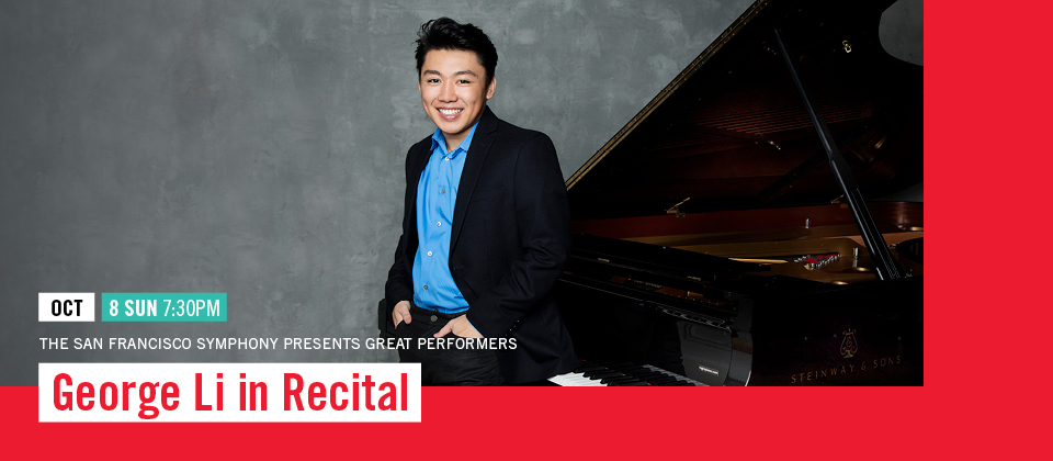 Oct 8: George Li in Recital