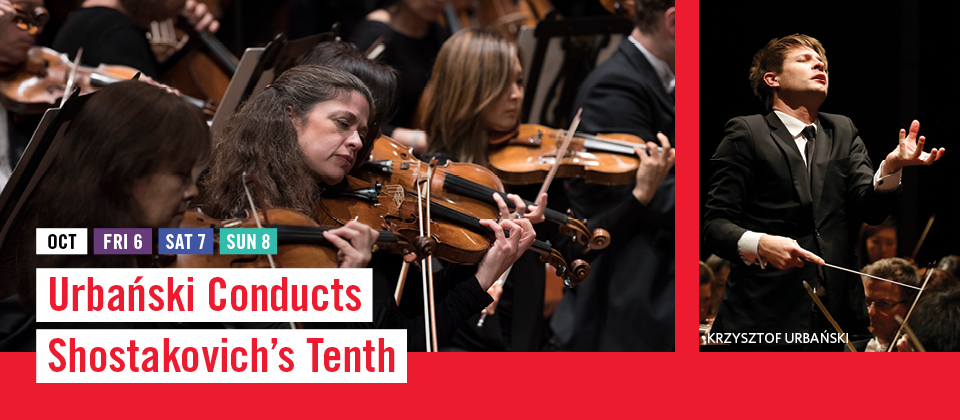Oct 6-8: Urbanski Conducts Shostakovich's Tenth