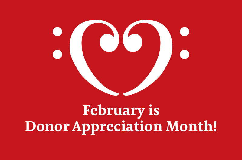 donor appreciation month