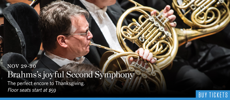 Brahms's Joyful Second Symphony
