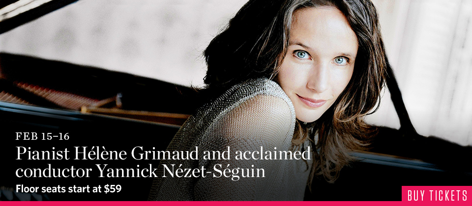Helene Grimaud and the Rotterdam Philharmonic