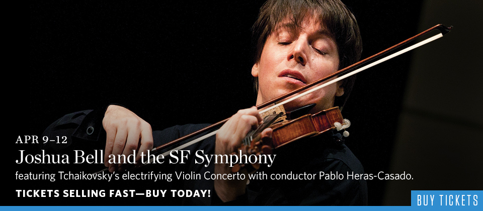 Joshua Bell and the SF Symphony