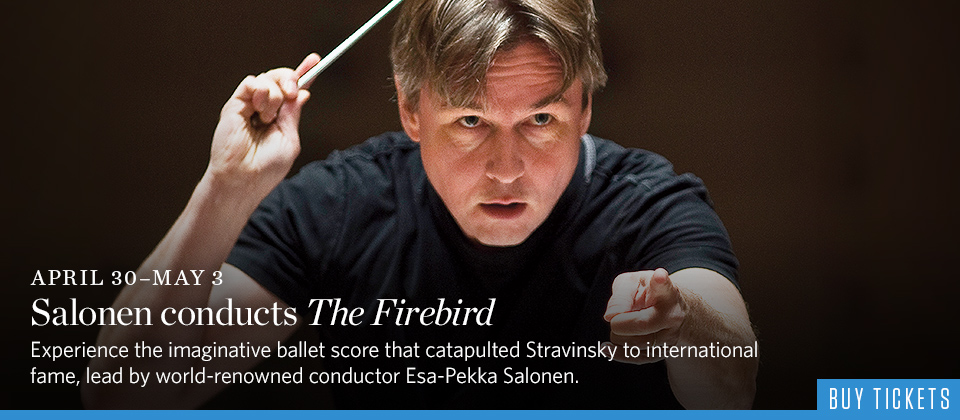 Salonen conducts The Firebird
