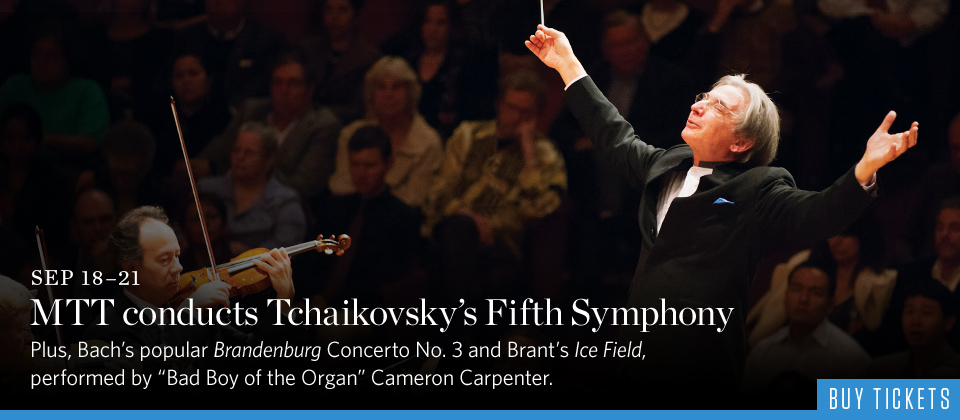 MTT conducts Tchaikovsky Fifth Symphony