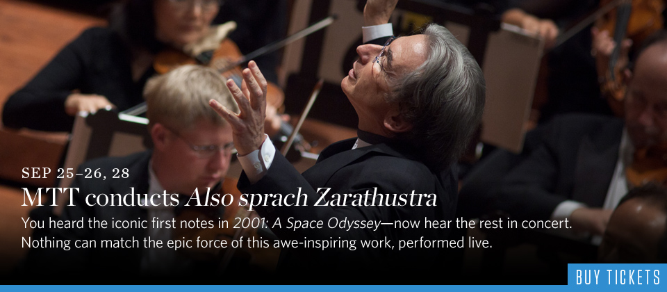 MTT conducts Also sprach Zarathustra