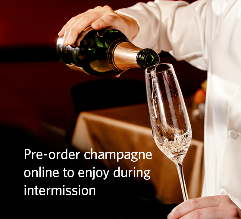 Pre-order a champagne experience online