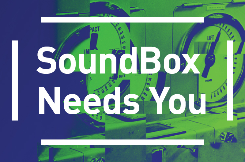 SoundBox needs you. Click to learn more!