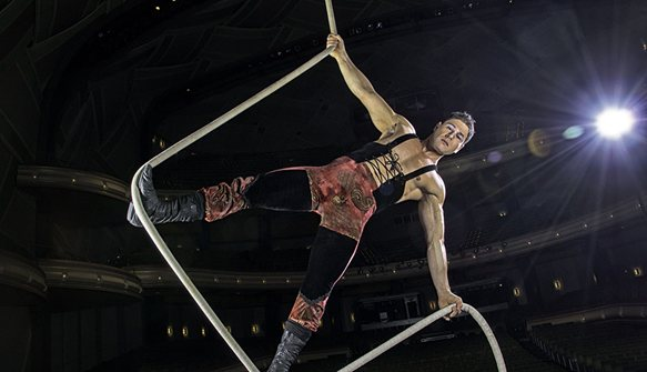 Flying high with cirque